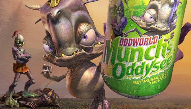 Oddworld: Munch's Oddysee - la locandina